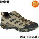 Merrell MOAB 2 GORE-TEX M06035 Walnut メレル モアブ 2 ゴアテックス メンズ アウトドア ゴアテックス スニーカー …