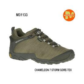 Merrell CHAMELEON 7 STORM GORE-TEX M31133 DUSTY OLIVE メンズ アウトドア ゴアテックス スニーカー メレル カメレオン 7 ストームゴアテックス