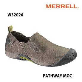 Merrell W32026 PATHWAY MOC Women's BOULDER メレル ウィメンズ パスウェイモック ボルダー レディース アウトドア シューズ 幅2E相当