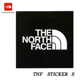 The North Face TNF ステッカー 小 ザ ノースフェイス TNF Sticker SMALL K BLACK nn-9719