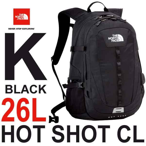 ザ ノースフェイス ホットショット シーエル 26L 多機能デイパック The North Face Hot Shot CL NM71606 (K)ブラック nm71606