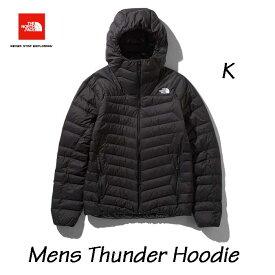 The North Face NY81811 K Mens Thunder Hoodie ザ ノースフェイス サンダーフーディ(メンズ)ブラック