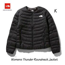 The North Face NYW81915 K Womens Thunder Roundneck Jacket ザ ノースフェイス サンダーラウンドネックジャケット(レディース)(K)ブラック