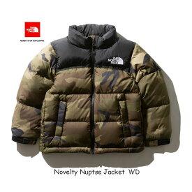 The North Face NDJ91864 WD ザ ノースフェイス ノベルティーヌプシジャケット(キッズ) The North Face Kid's Novelty Nuptse Jacket NDJ91864 (WD)ウッドランドカモ 2019年秋冬最新在庫 無償修理対象日本正規品