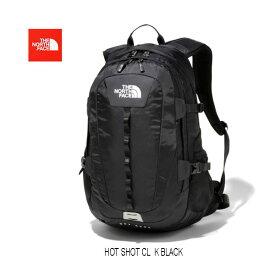 The North Face NM71862 K Hot Shot CL 売れてます♪ GOLDWIN日本正規品 ファッションアイテムとして女性にも人気 ザ ノースフェース ホットショット シーエル NM71862 Kブラック black  26L