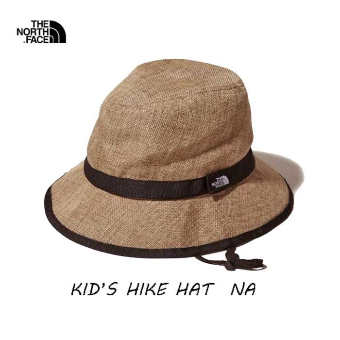 The North Face ネコポス便対応送料無料 無償修理対象正規品 キッズ ハイク ハット(キッズ)KM(50-53cm)KL(54-55cm)  ザ ノースフェイス Kids' HIKE Hat NNJ01820 NA ナチュラル