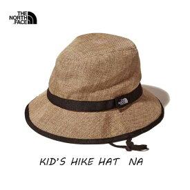 The North Face NNJ01820 NA キッズ ハイク ハット(キッズ)KM(50-53cm)KL(54-55cm)  ザ ノースフェイス Kids' HIKE Hat NNJ01820 NA ナチュラル ネコポス便対応 送料無料