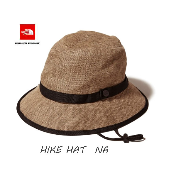 The North Face 宅配便で送料無料 ハイクハット(ユニセックス ) ストローハット   ザ ノースフェイス HIKE Hat NN01815 (NA)ナチュラル