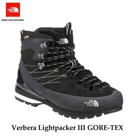 The North Face NF51610 KW Lightpacker III GORE-TEX ザ ノースフェイス ヴェルベラ ライトパッカーIII GORE-TEX(ユニセックス) (KW)TNFブラック×ホワイト TNF Black/White