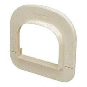 エアコン配管材化粧カバー(100型)ダークグレー 1個価格 未来工業 GKCK-100DG