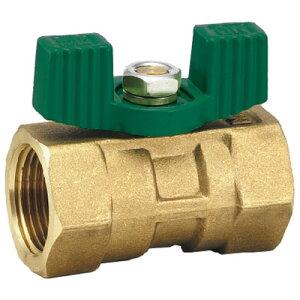 フローバル 黄銅製ボールバルブ レデュースドボア型 G03W ネジ(Rc)1/8 G03W-01