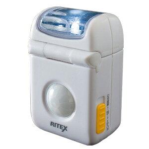 ムサシ LEDマイクロセンサーライト(乾電池別途) ASL-010