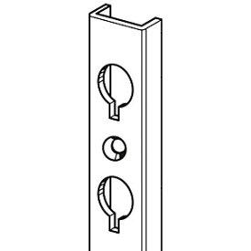 ロイヤル 面付けGPダボ柱(ビス止め式)1200mm アルシルバー GPM