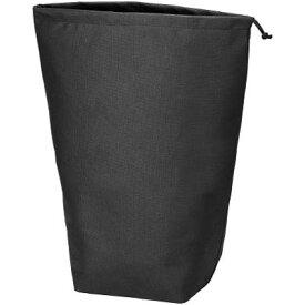 トラスコ 不織布巾着袋 黒 500×420×220mm 10枚入 TNFD-10-L