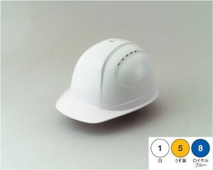 TOYO 特大サイズヘルメット【385F-OT】(カラー・うす黄)(スチロール入)【受注生産品】 385F-OT