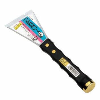 仁作ステンレス製 ハンマー付皮スキ Y型斜 63mm (No.1160