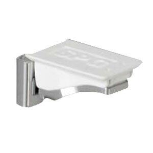 フラッシュ棚柱用MWフラッシュ棚受 ホワイト 1箱1000個価格 SPG(サヌキ) LA-412