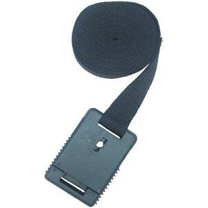 トラスコ 樹脂バックル付結束ベルト 鍵付Aタイプ 25mm ※取寄せ品 TIB-KLS-MA25