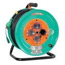 日動 防雨防塵型ドラム(屋外型)アース付 30m 過負荷漏電保護兼用 NW-EK33F