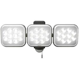 ムサシ ライテックス センサーライト100V LED12W×3灯 フリーアーム式 ※取寄品 LED-AC3036