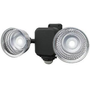 ムサシ ライテックス LED乾電池式センサーライト 3.5W×2灯 フリーアーム式 ※取寄品 LED-265