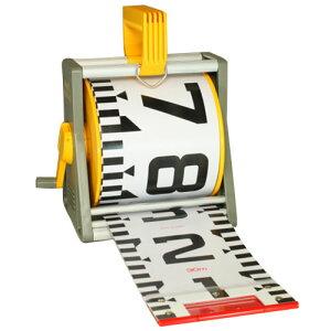 ヤマヨ測定機 150mm幅リボンロッドケース(ケース・テープのセット品)E1タイプ 20m ※取寄品 R15A20M