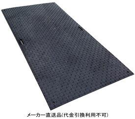 ウッドプラスチック Wボード12 両面凸 色:黒 1000mm×2000mm×20mm 1枚価格 ※離島配送不可