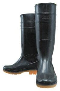 ロングタイプ耐油長靴 黒 24.5cm ※取寄品 おたふく JW-708-BK-245