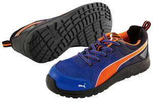 【送料無料】 安全靴 マラソン ブルー ロー 27.0cm 2018年ジャパンモデル PUMA(プーマ) 64.335.0 ( スニーカー 作業靴 作業用 ワーキングシューズ 安全シューズ セーフティーシューズ 先芯入りスニ