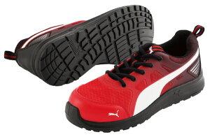 【送料無料】 安全靴 マラソン レッド ロー 27.0cm 2018年ジャパンモデル PUMA(プーマ) 64.336.0 ( スニーカー 作業靴 作業用 ワーキングシューズ 安全シューズ セーフティーシューズ 先芯入りスニ