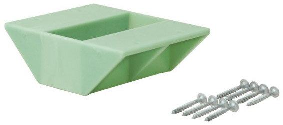 平安伸銅工業 ラブリコ 2×4棚受ダブル ヴィンテージグリーン ※取寄品 DXV-3