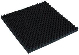 トラスコ 波状加工ウレタンスポンジシート ソフト 40厚×500×500mm ※取寄品 TKWS-4050