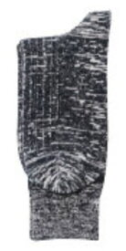 BT サーモ スラブリブソックス 先丸(2P) グレー 【取寄品】 おたふく JW-156 (靴下 フットウェア メンズ 発熱 サーモスタット 保温)