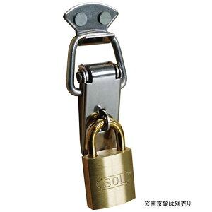 ステンレスパッチン錠 カギ穴付き 50mm 袋入り SUS304 取寄品 SOL HARD No.1010K-50