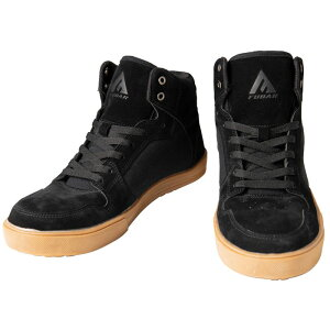 ワークシューズ ミドルカット黒 25.5 FUBAR 取寄品 おたふく FB-821 ( 安全靴 作業靴 鋼鉄 先芯 fubar フーバー )