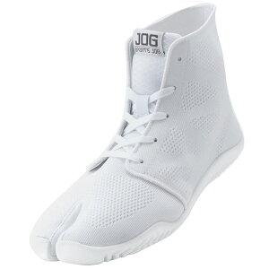 スポーツジョグ2 白 30.0cm 取寄品 丸五 ( 足袋型 スニーカー 靴ひも メッシュ ミドルカット )