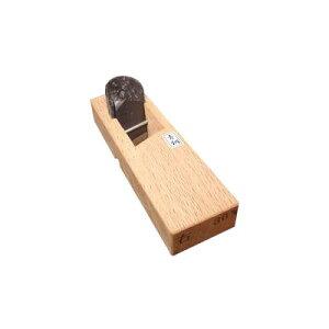 細工キワ鉋(白樫)24mm 4寸台【青鋼】 左キワ 常三郎 arde9999