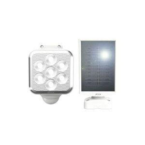 ライテックス ソーラーセンサーライトLED5Wx1灯 フリーアーム式 取寄品 ムサシ S-110L (ソーラー式 省エネ メンテナンスフリー 夜通し 点灯 バッテリー切れ 360度 常夜灯 フラッシング 24時間 警