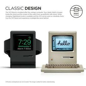 elago Apple Watch 専用 スタンド W3 STAND シリコン製 充電スタンド付 EL_WCASTSCW3(ネコポス便不可)
