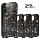 AREAiPhone11ProケースPCBデザイン基盤デザインワイヤレス充電対応NFC対応ApplePay対応専用壁紙有りMS-11PRBO