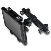 NintendoSwitch車載ホルダースタンド任天堂ヘッドレスト固定後部座席タブレットスマホ簡単取付角度調整可WB-CARUNIHOL