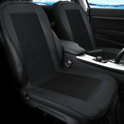 AREAクールカーシートエアーベンチレーション涼しい車内12V車専用送風ファンムレ防止快適ドライブ熱中症対策簡単取付風量調節可能WB-COOLCARSEAT-BK