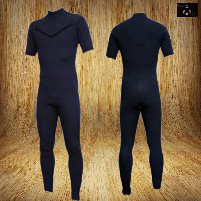 国内縫製 伸縮素材 BLACK Jersey CLASSIC 3x2mm ZIPLESS ジャージ シーガル