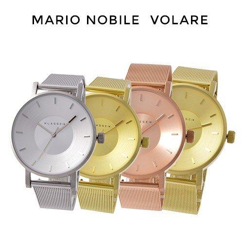 【父の日 プレゼント】【父の日ギフト】【並行輸入品】 KLASSE14 クラス14 メンズ レディース 時計 腕時計 MARIO NOBILE VOLARE ステンレス メッシュバンド VO14GD002W VO14GD002M VO14SR002W VO14SR002M VO14RG003W VO14RG003M 【お買い物50】
