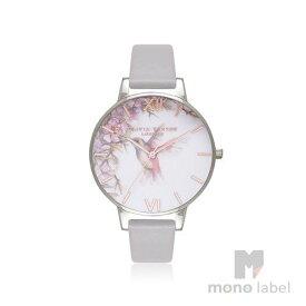 【並行輸入品】[Olivia Burton] オリビアバートン 腕時計 Painterly Prints London OB16PP23 グレーライラック×シルバー 【お買い物50】