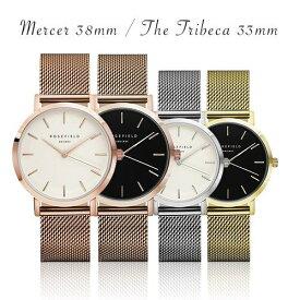 ローズフィールド 時計 メンズ 腕時計 ゴールド マーサー 男性 ROSE FIELD MWR-M42【お買い物】