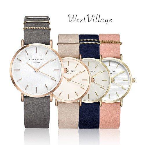 ローズフィールド 時計 レディース 腕時計 グレー ウエストビレッジ 女性 ROSE FIELD WMGR-W74