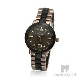 【ヴィヴィアンショッパープレゼント!】【並行輸入品】[VIVIENNE WESTWOOD] ヴィヴィアンウエストウッド 腕時計 VV165BRBR レディース ブラウンマーブル ブロンズ ステンレス 【お買い物】