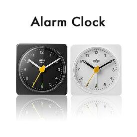 ブラウン 置き時計 時計 目覚まし時計 ブラック 黒 ホワイト 白 BRAUN アナログ アラーム時計 BC02B BC02W【並行輸入品】