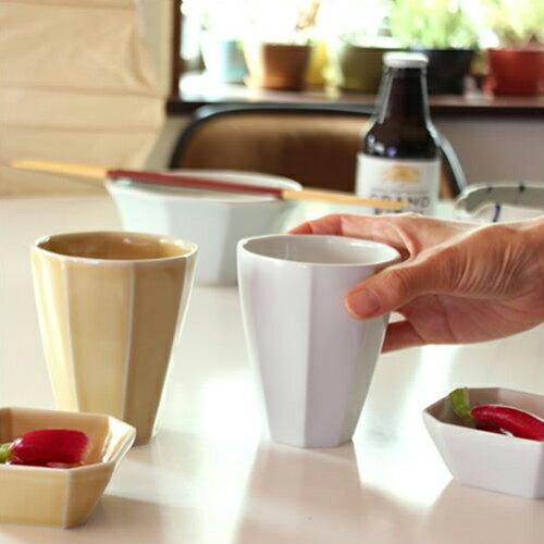 【HAKKAKU カップ L】テーブルウェア コップ 波佐見焼 八角形 おもてなし■ あす楽